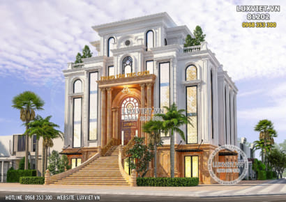 Hình ảnh: Thiết kế trung tâm tiệc cưới - trung tâm hội nghị đẹp - LV 81202